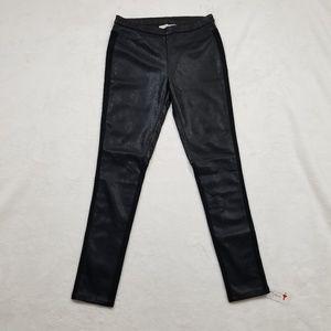 Ellison Black Faux Leather Legging Size S